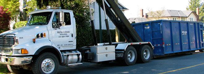 Mini Load Disposal Disposal Bin Rental Roll Off Bins
