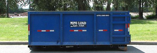 12 Yard Disposal Bin