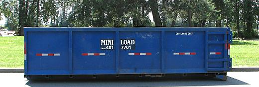 20 Yard Disposal Bin Miniload Disposal