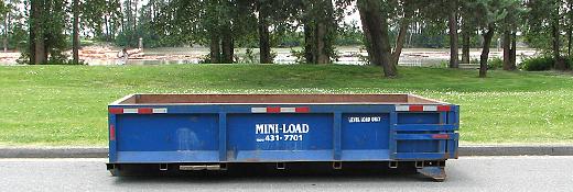 6 Yard Disposal Bin